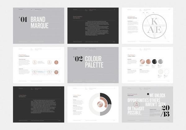 KAE — Strategic Marketing on Behance #branding
