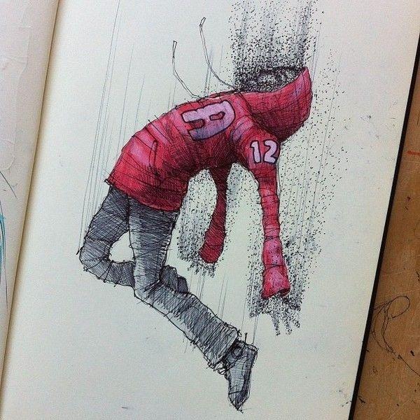 MOLESKINE SKETCHES 3 by Norio Fujikawa #inspiration #doodle #design #drawing #character
