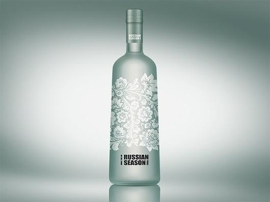 Best Brand Vodka Design Packaging Russian Images On