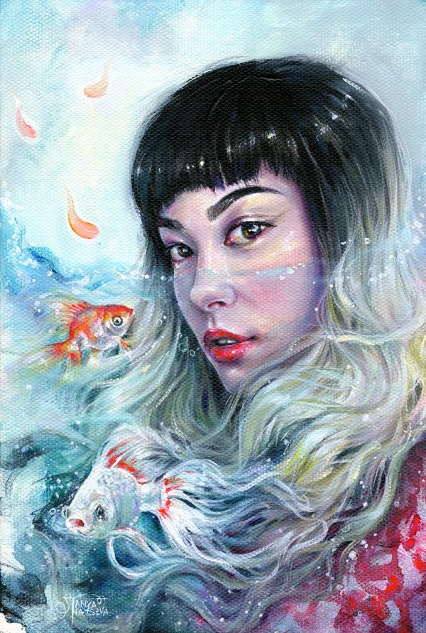 Tanya Shatseva   PICDIT #art #painting