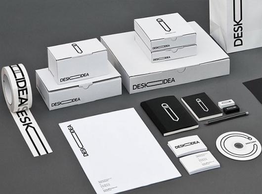 Deskidea | Identity Designed #logo #identity