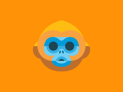 Ron Lewis / Mail Chimp #icon #chimp #graphic #illustration #minimal