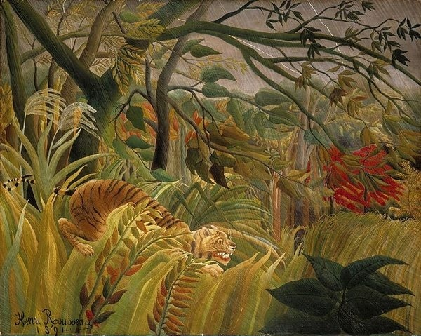 Tiger in a Tropical Storm (Surprised!) #a #tropical #in #storm #tiger