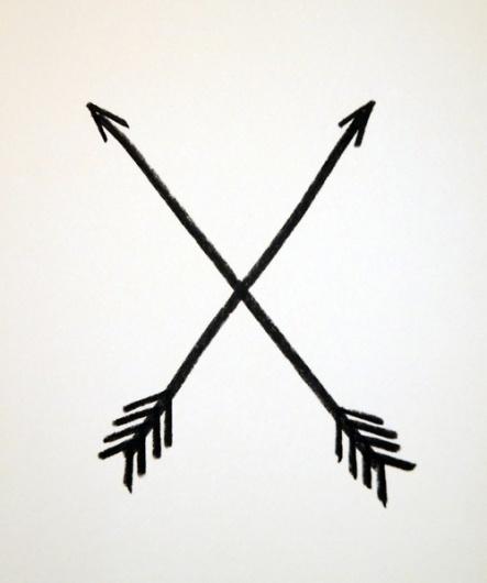 Michael Thomas Carey - eastcoastbred.us #arrows #illustration #charcoal