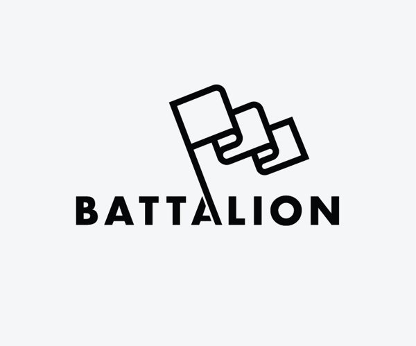 Battalion Logo design by Nicholas Christowitz #graphic design #design #logo #identity