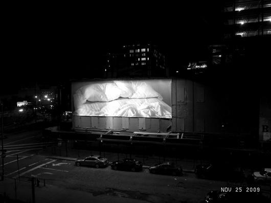 purple DIARY - tag - love #white #billboard #minmal #black #gonzalez #bed #art #torres #felix