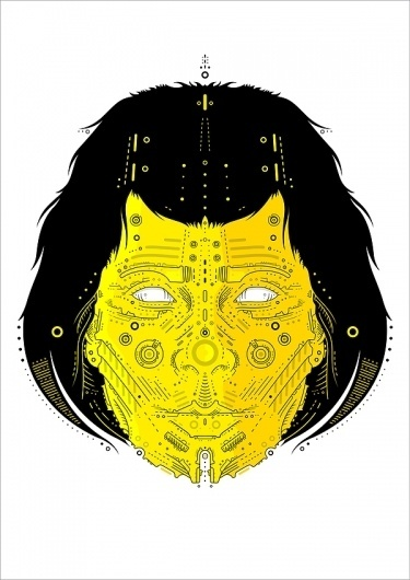 man & woman #vector #woman #yellow #illustration #art