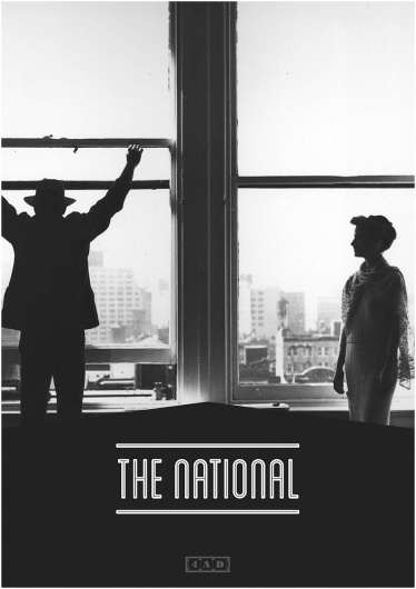 The National - James Kirkups portfolio #print #1950 #the #james #poster #national #kirkup