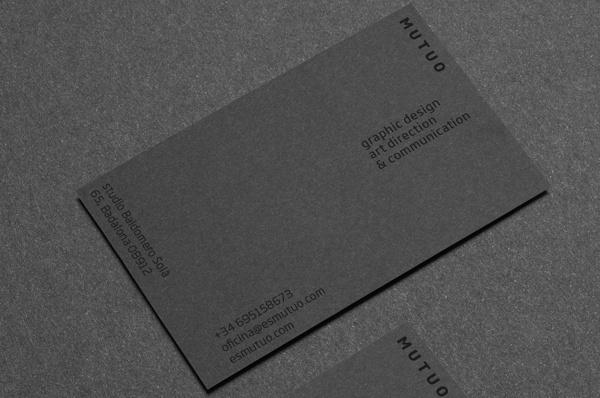 Mutuo Studio branding #business #cards #branding