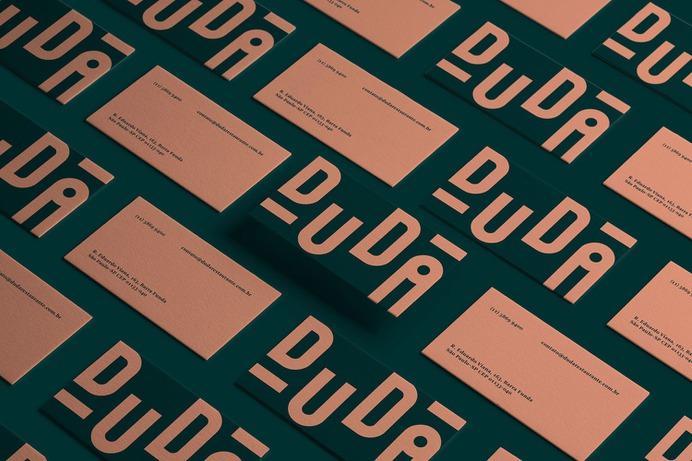 Duda - Mindsparkle Mag Gabriel M. Ramos designed this beautiful branding project for Duda – a restaurant inside of the Ibis Hotel. #logo #packaging #identity #branding #design #color #photography #graphic #design #gallery #blog #project #mindsparkle #mag #beautiful #portfolio #designer
