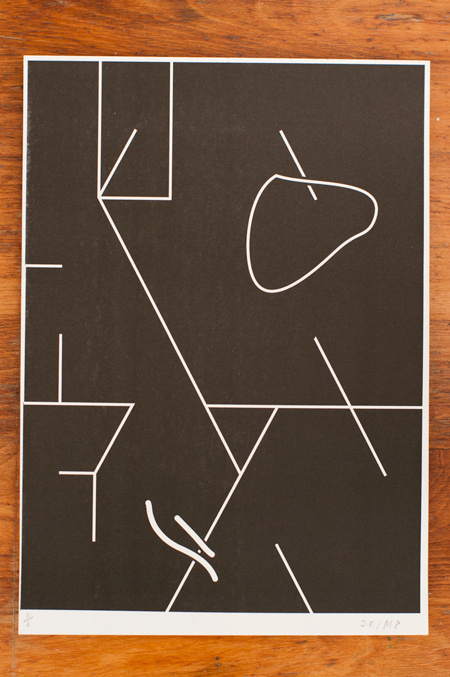Template Prints, March 2012 : Max Parsons Art / Art Direction #line #minimal