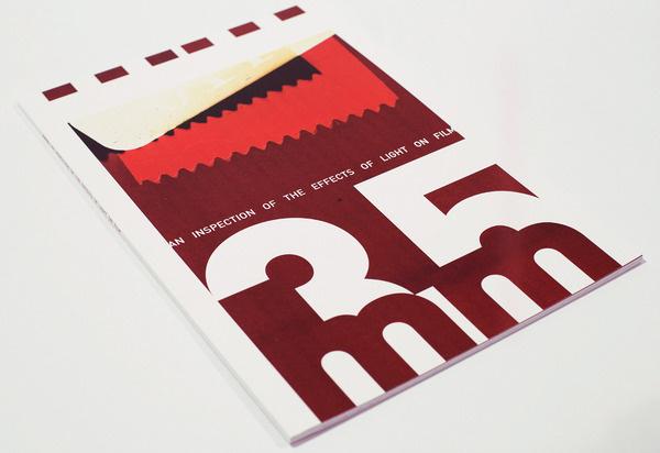 35mm Magazine Aaron Craig #swiss #zine #book #cover #photography #film #layout #magazine #typography