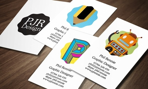 PJR Design Business Card Design by Phil Rennie #card #design #cards #business