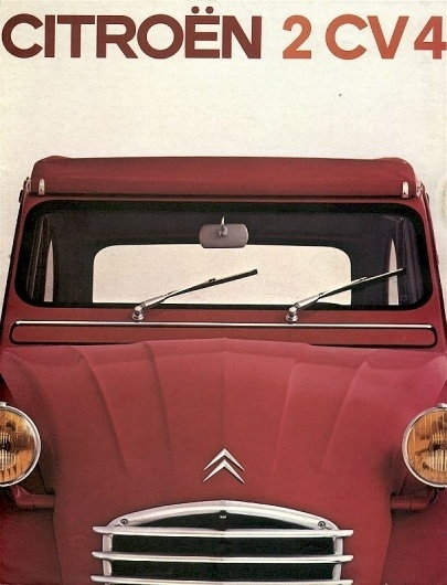 The fantastic Citroen 2cv pages #citroen #2cv #design #vintage