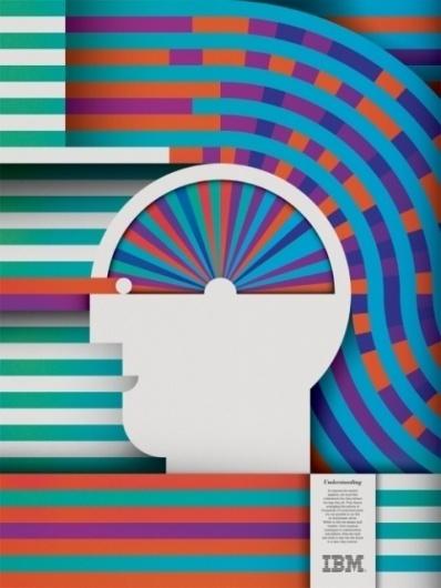 Minneapolis Advertising & Marketing Blog & News - The Minneapolis Egotist #minimal #poster #ibm