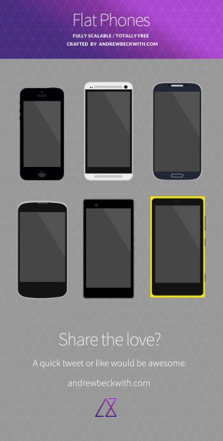 Iphones mockup in flat design psd Free Psd. See more inspiration related to Mockup, Design, Phone, Mobile, Iphone, Flat, Mobile phone, Flat design, Psd, Vertical and Iphones on Freepik.