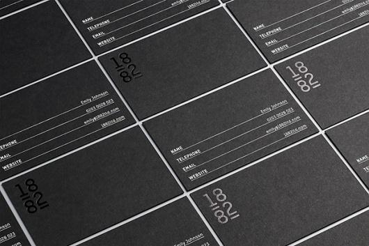 New Work: 1882 | New at Pentagram | Pentagram #card #print #business