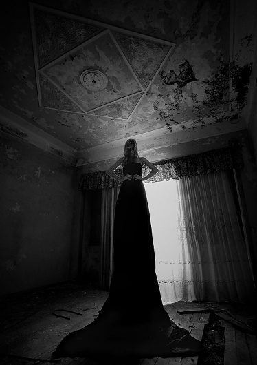 MUSE on the Behance Network #white #woman #black #photography #and #dress