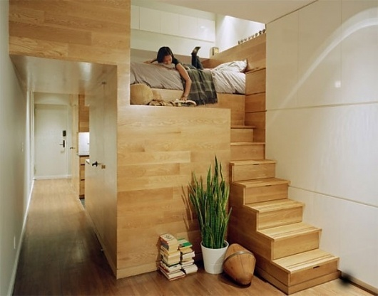 Freshhome incredible space maximization in a small studio apartment