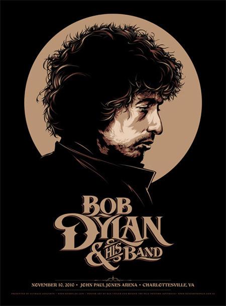 ken taylor #dylan #illustration #bob #poster