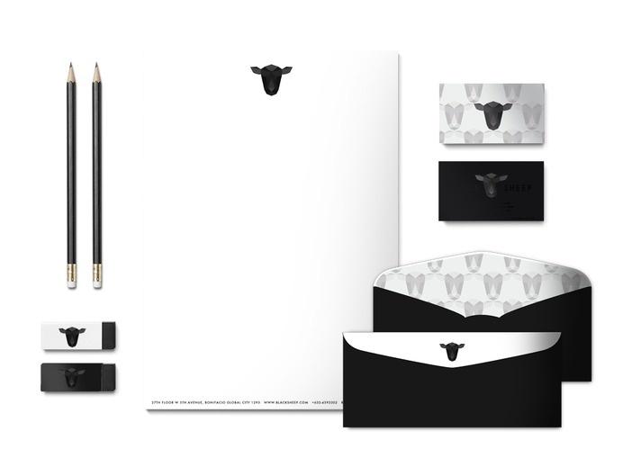 Black Sheep Restaurant Identity #logo #brand identity #branding