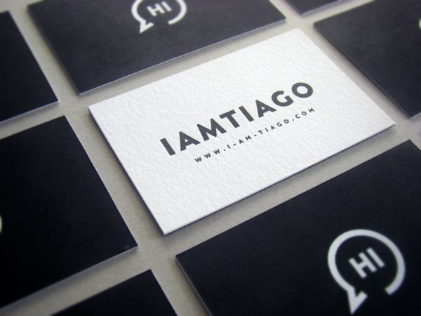 Tiago Business Card | Business Card Design Inspiration