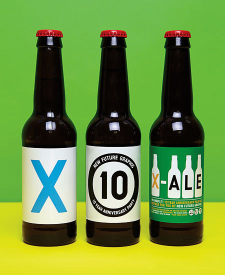 NFG X-Ale Bottles #packaging #beer #label