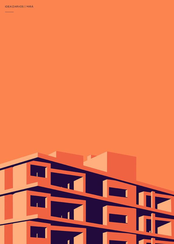 Poster design Henrique Folster | PICDIT #coor #design #graphic #poster