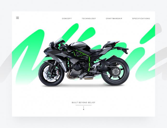 The Kawasaki Ninja H2™R hypersport motorcycle landing page