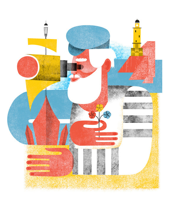 Press #illustration