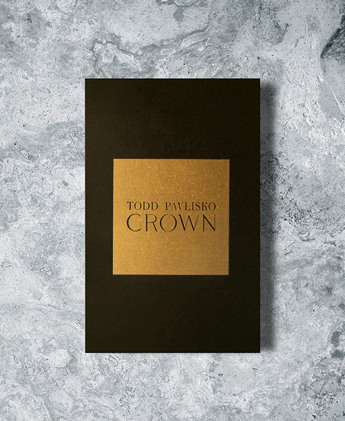 Todd Pavlisko - Crown Thermography- gold. #thermography #print #gold #typography