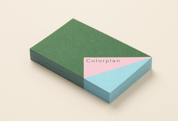 Creative Review Made Thought rebrands Colorplan #card #print #business