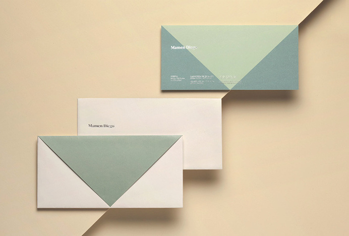 Mamen Diego by Atipo #brand design #stationery #colourful