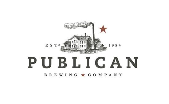 Publican Brewing Company Logo Design #packaging #logo #design