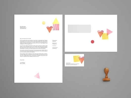 Hjertevarmestuer on the Behance Network #stationary #stamps #design #graphic #hjertevarmestuer #identity