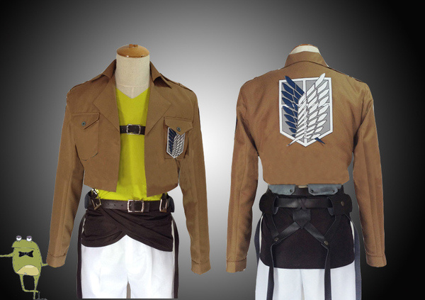Attack on Titan Connie Springer Cosplay Costume Scouting Legion #costume #cosplay #on #attack #titan