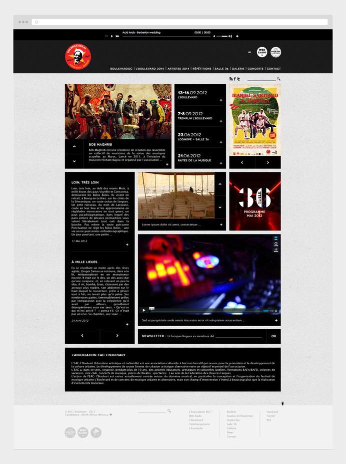 web design, site web