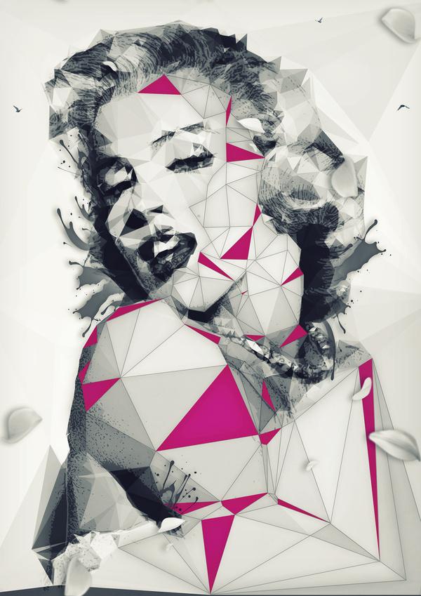 I Am Legend – Hollywood by Florian Ludwig #legend #hollywood #poly #illustration #art #low