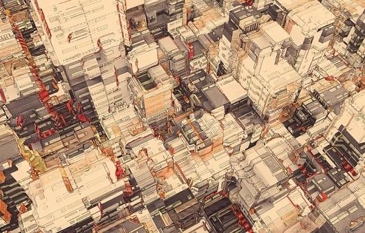 cities_atelier_olschinsky_09.jpg 765×490 pixels #illustration #atelier #olschinsky #cities