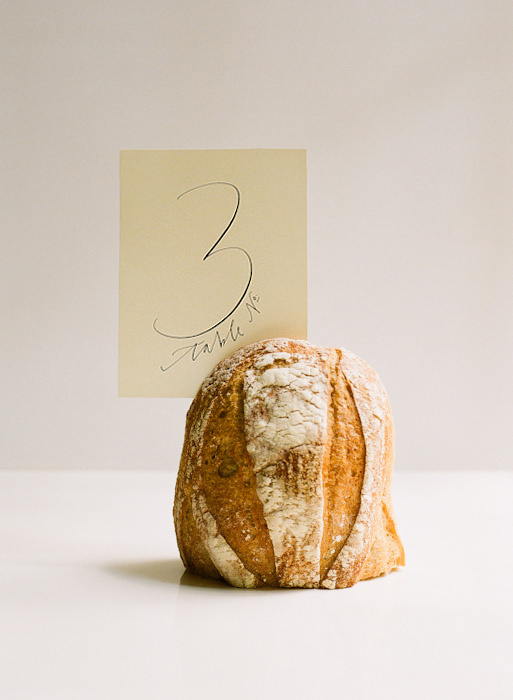 bread-table-number-ideas #table #number #typography