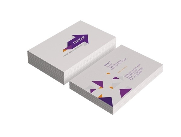 move on Branding Served #card #identity #business #stationery