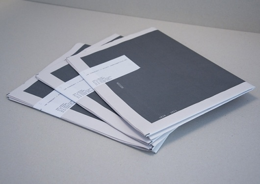 Dossier - Mike Hamberg #print #design #layout #typography