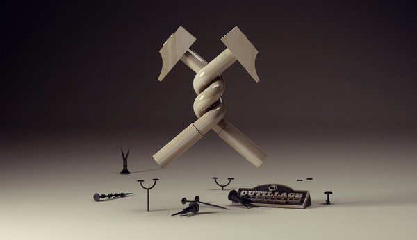 Outillage Introuvable PLASTICBIONIC ::: Art direction, Graphic Design #3d