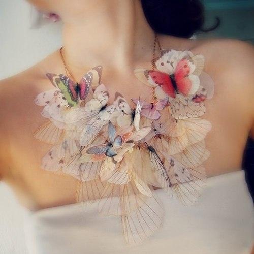 Necklace #butterfly #neckalce
