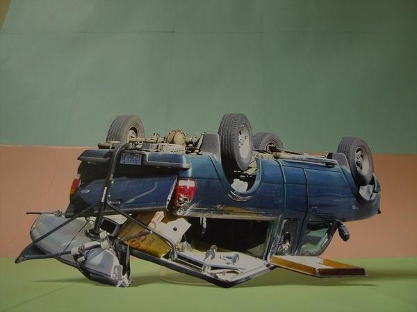 Conny Crash / Reportage I #collibri #fellerer #cars #art #marge