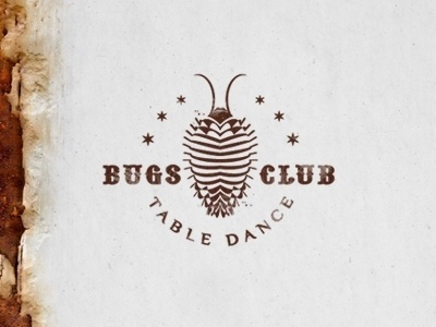 Dribbble - Bugs Club by Type and Signs #logo