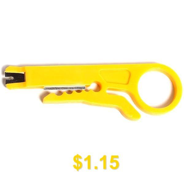 Mini #Portable #Wire #Stripper #Tool #- #YELLOW