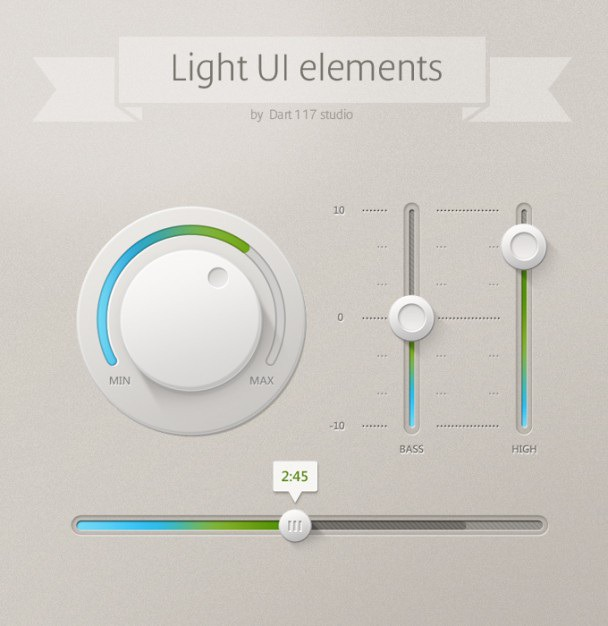 Light ui ui control ui elements Free Psd. See more inspiration related to Light, Elements, Ui, Control, Ui elements and Vertical on Freepik.