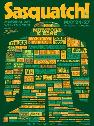 052613_SASQUATCH_sonics.gif #draplin #poster #typography