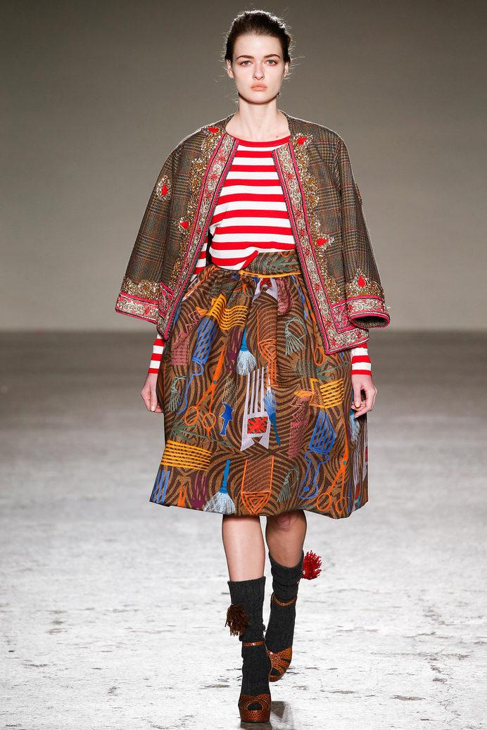 Stella Jean Fall 2015 Ready-to-Wear - Collection - Gallery - Style.com #pattern #runway #fashion #jean #stella